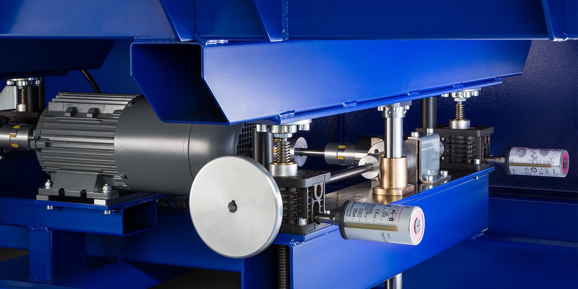 Detailaufnahme bei der Industriefotografie, TMV CNC in Klaus