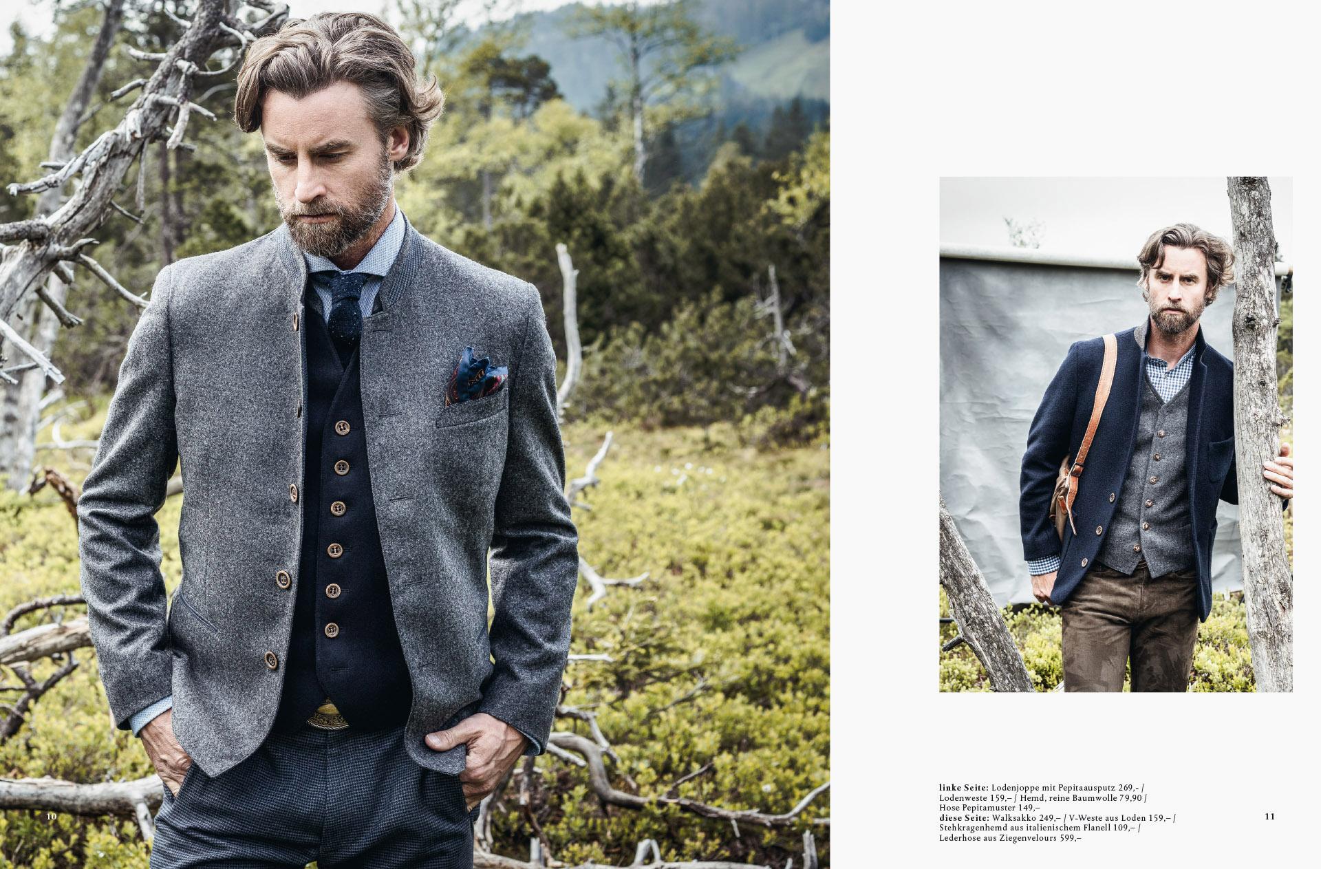 Fotowerk Modefotografie - Tracht für ihn, schlicht und elegant
