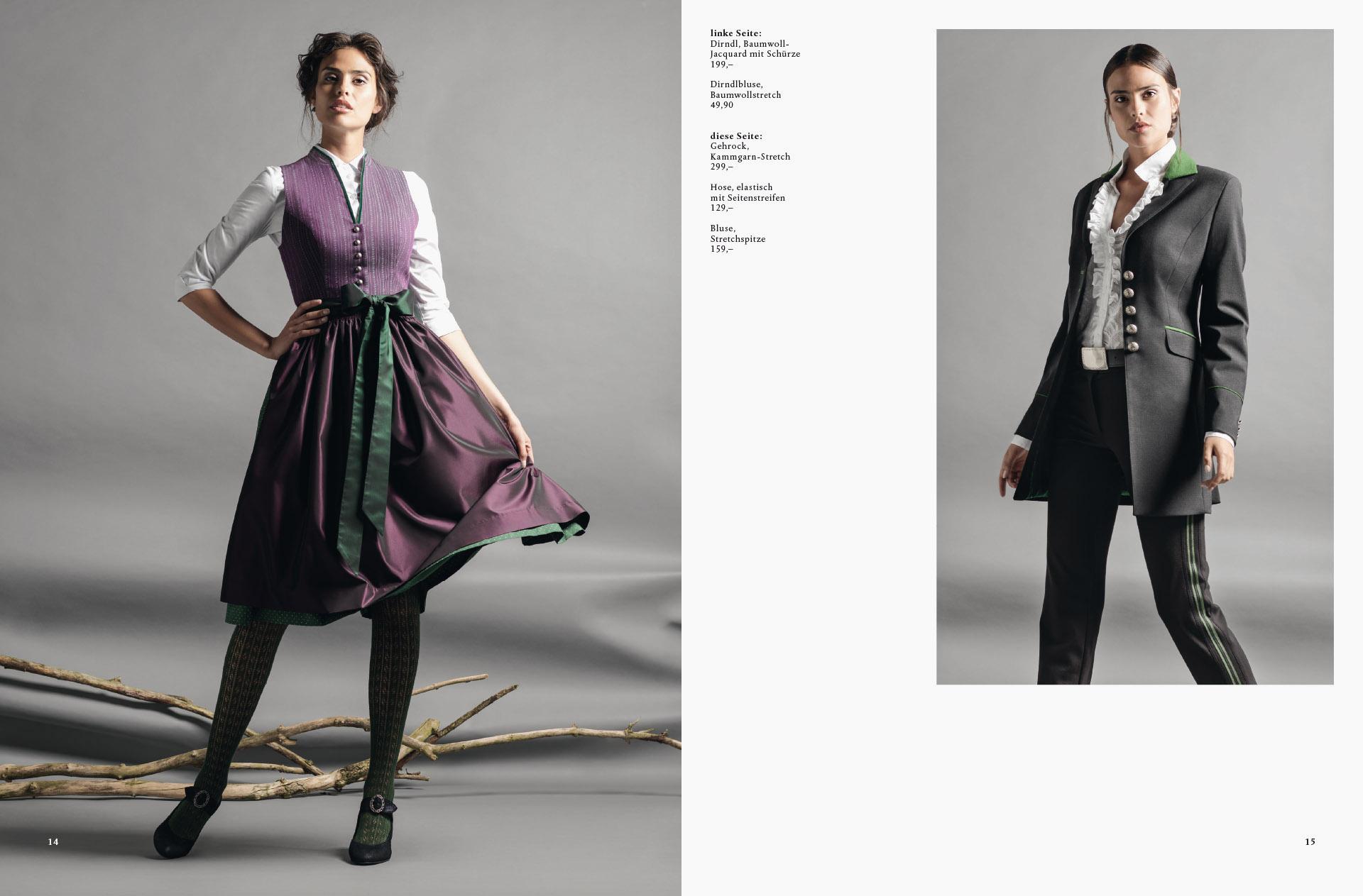 Fotowerk Modefotografie - vom klassischen Dirndl bis zum eleganten Outfit