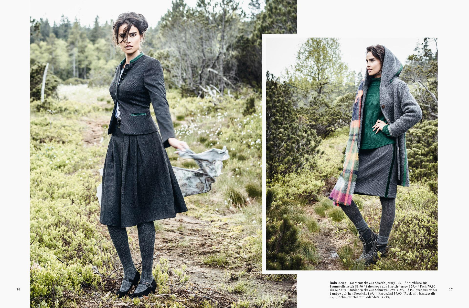 Fotowerk Modefotografie - winterliche Outfits für die Dame