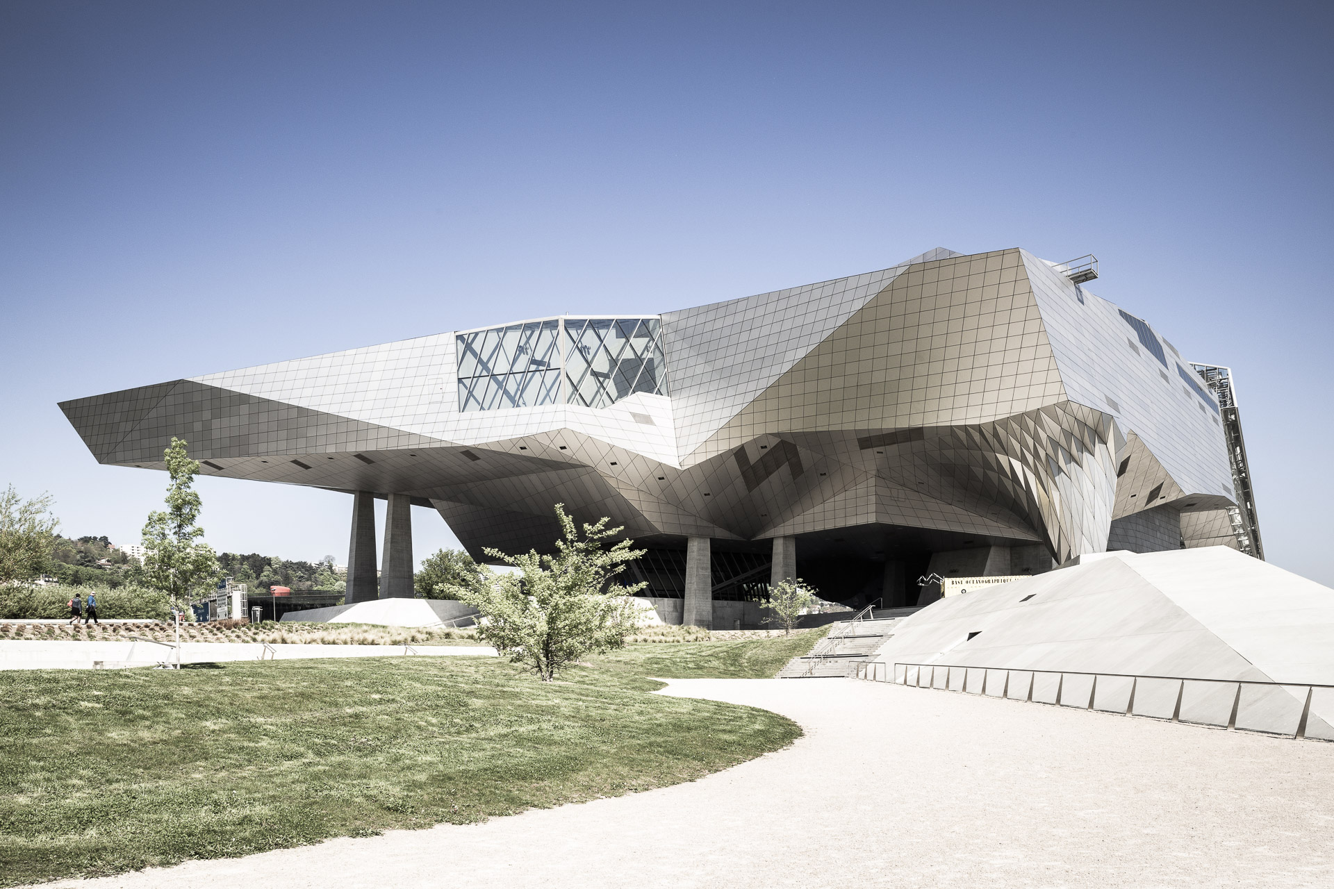 Architekturfotografie - Musée des Confluences