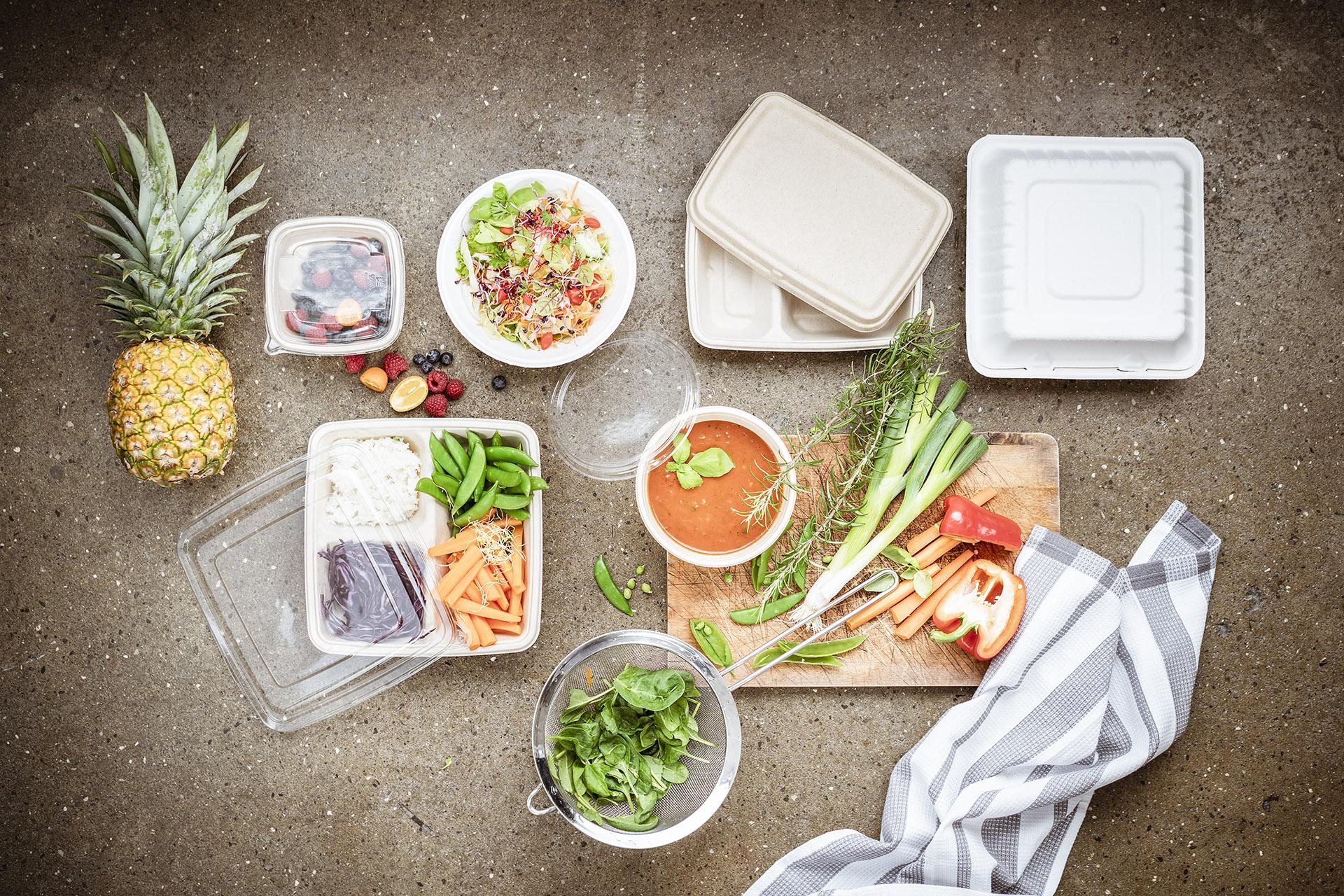 Fotowerk Foodfotografie - Take-away-Verpackungen