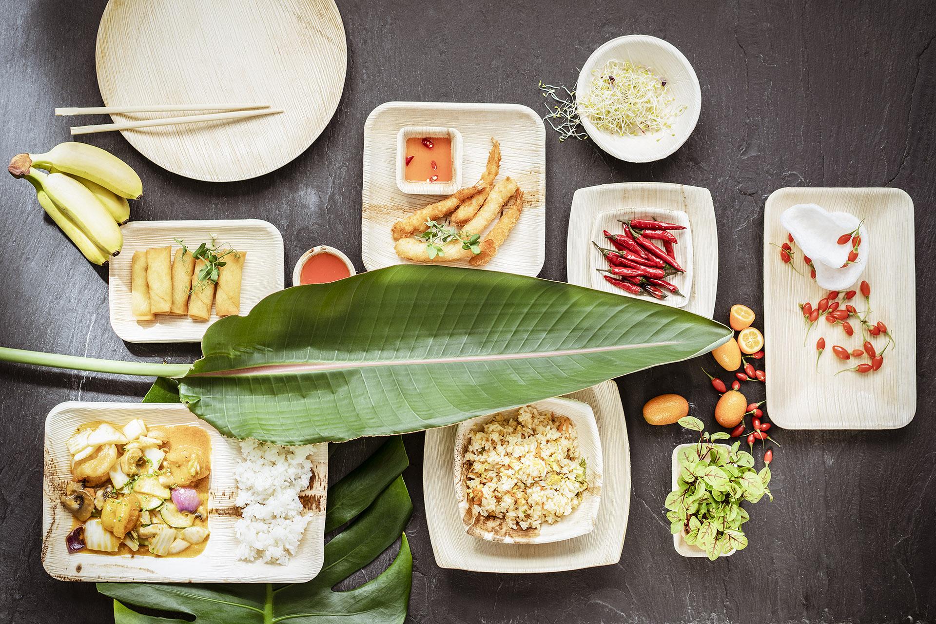 Fotowerk Foodfotografie - Geschirr aus Bambus