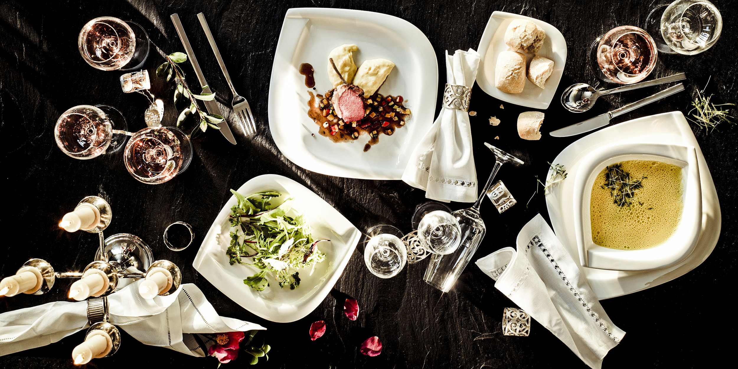 Foodfotografie für die Mäser Group fotografiert von Fotowerk Lampelmayer GmbH