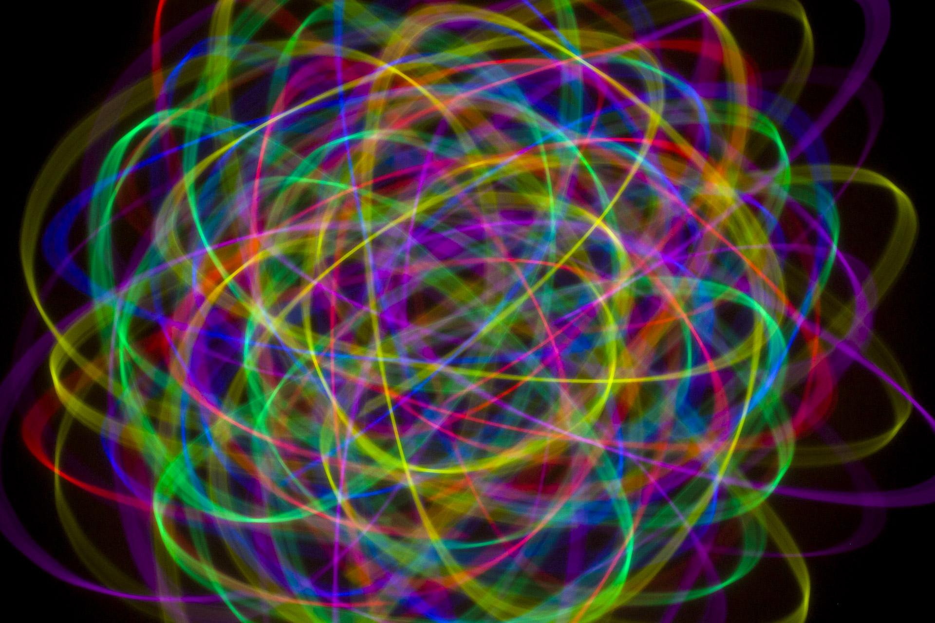 Kunstfotografie - das Atom