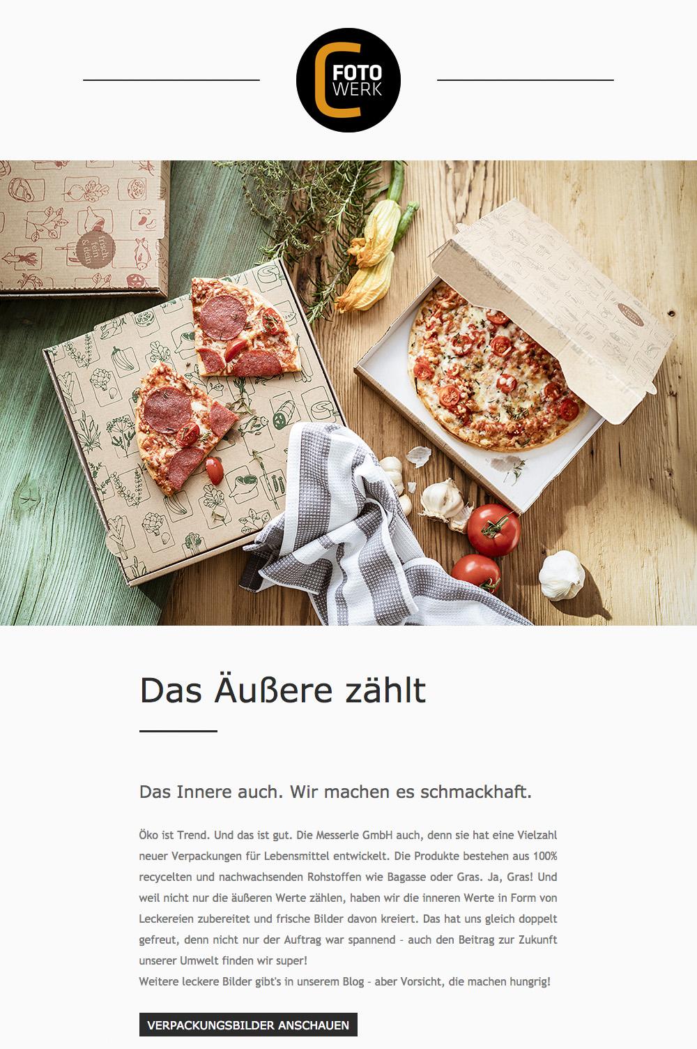 Fotowerk Newsletter 2019-02 - Foodfotografie, Modefotografie, Architekturfotografie