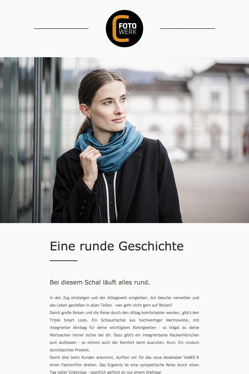 Fotowerk Newsletter 2019-01 - Modefotografie, Kunstfotografie, Businessfotografie