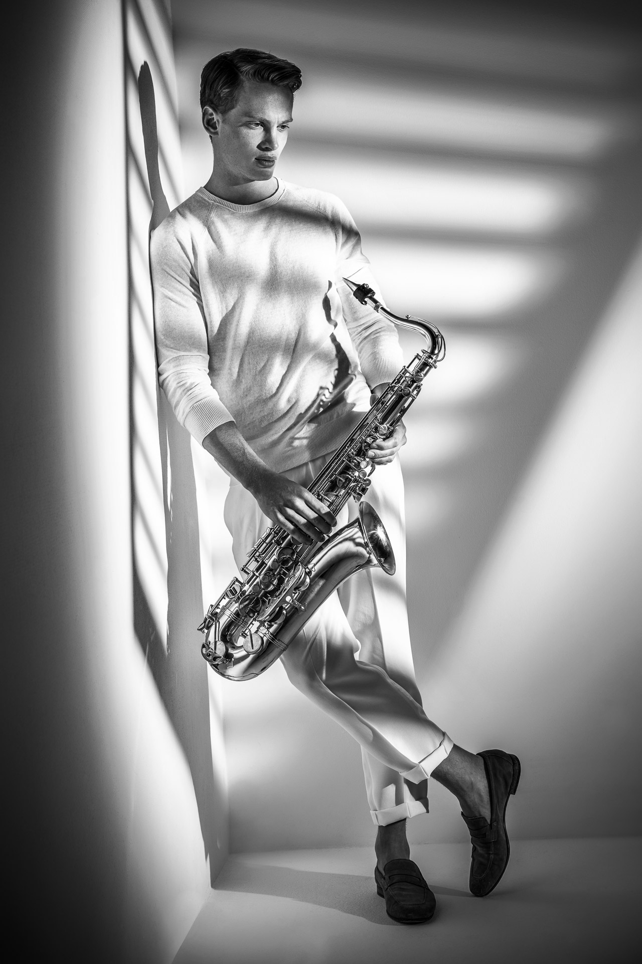 Fotowerk Modefotografie - Der Musiker