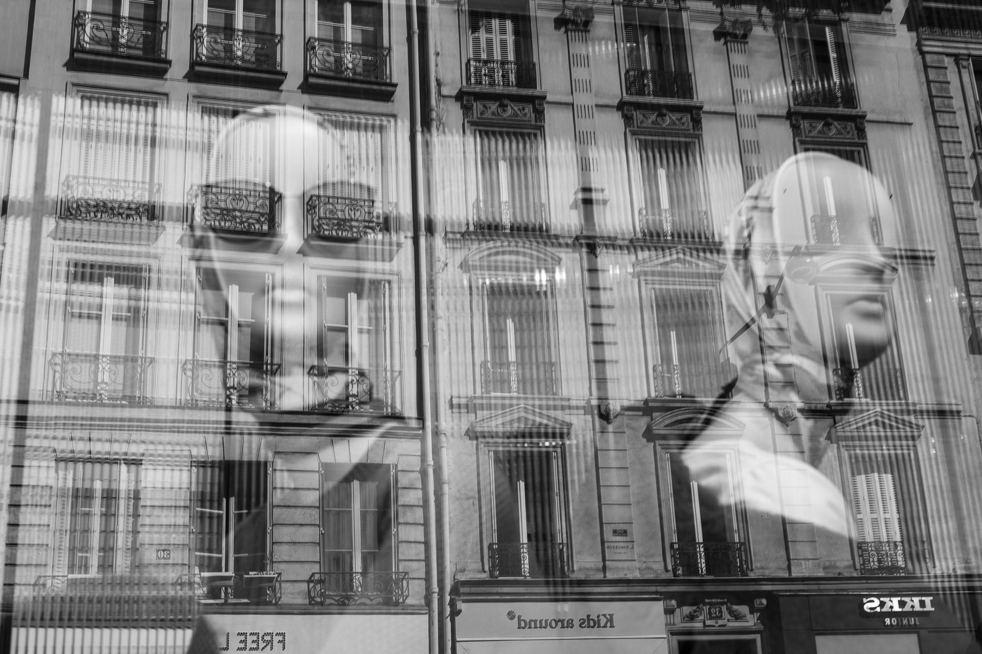 Fotowerk Kunstfotografie - Spiegelbilder - die Damen