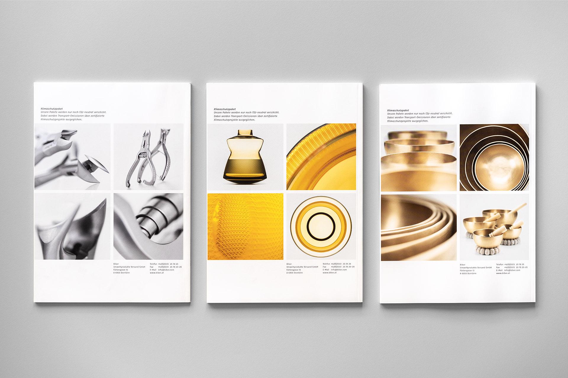 Fotowerk Produktfotografie - Biber Versand Rücktitel