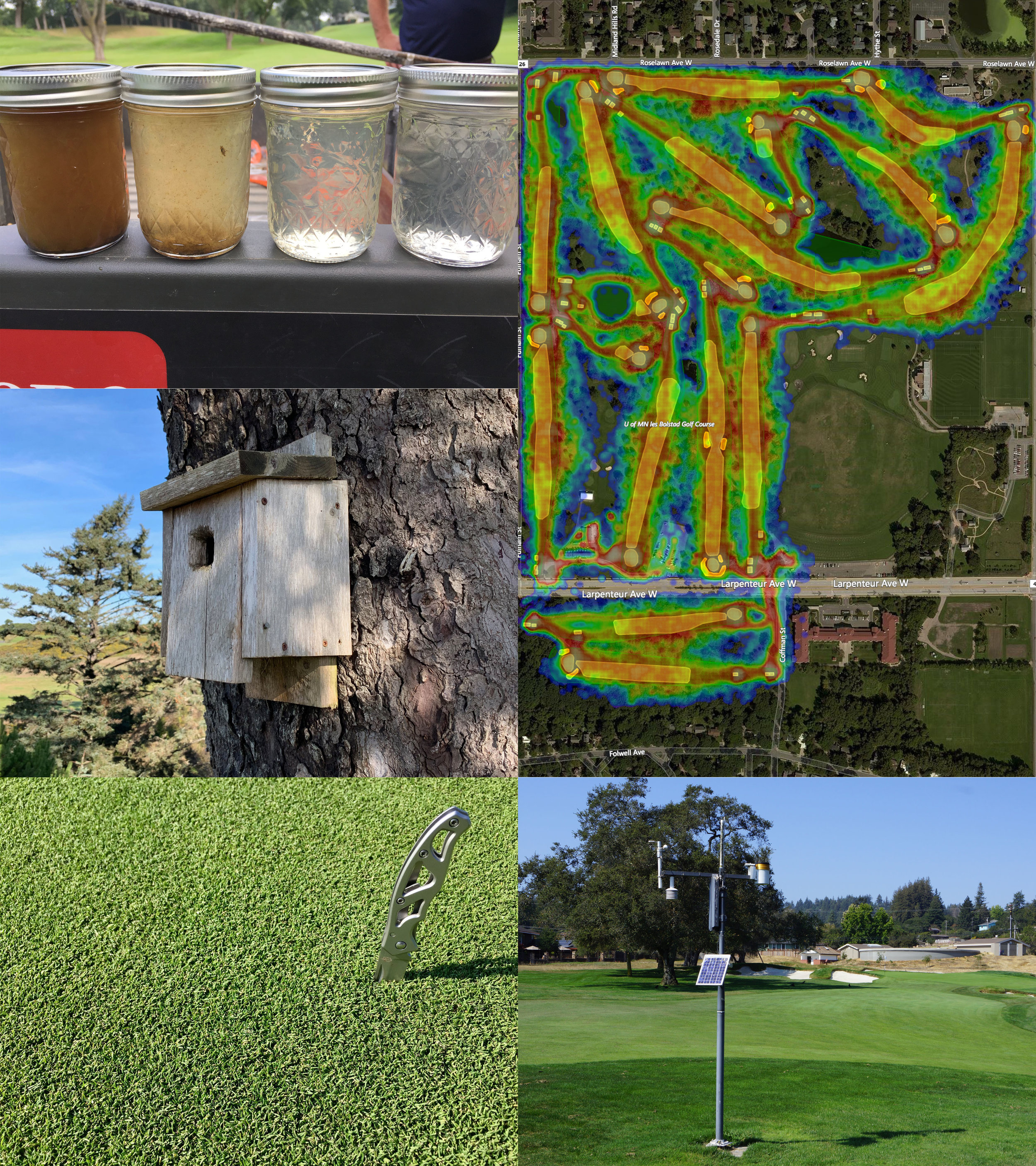 Benchmarking & Assessment: - Utilize GPS, drone, and historical data to assess the efficiency of your golf facility in a number of study areas: water use, turfgrass coverage and species, water quality, energy efficiency, nutrient and chemical use, species inventory, community engagement, programming reach, accessibility impact, to name a few. Learn more about how your golf course can increase its positive impact, increase its revenue potential, and decrease costs and resource use.