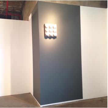 "Image Caption: Christopher Stout, ""A.O."" solo installation view, ArtHelix, April 2015"