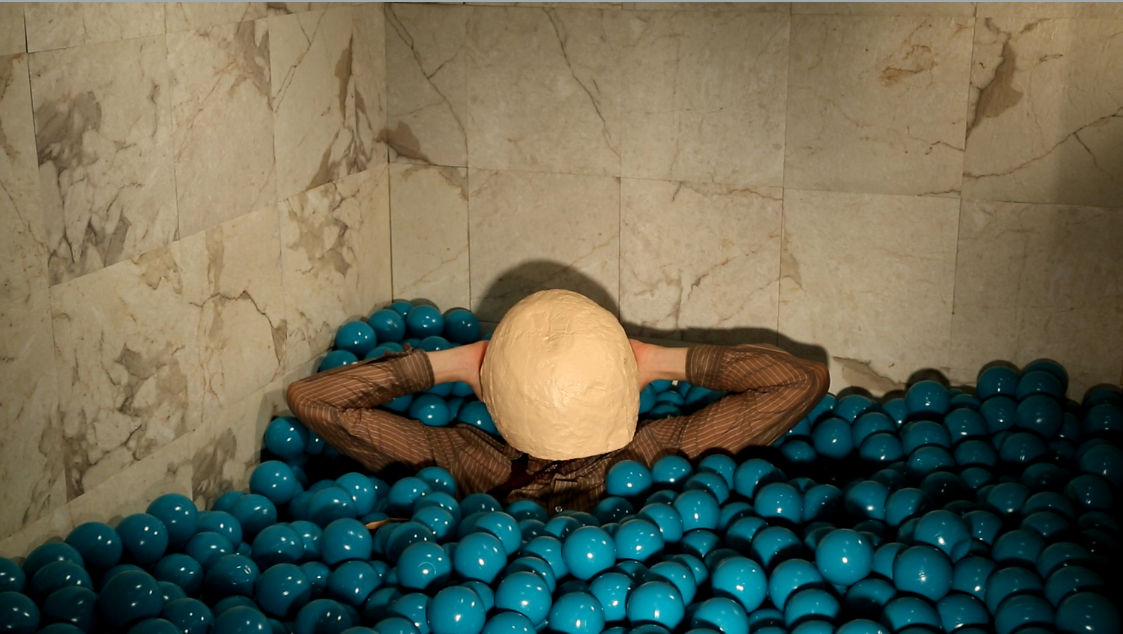 """""""Ball Pit"""", Douglas Burns. Image courtesy of This Friday or Next Friday."""