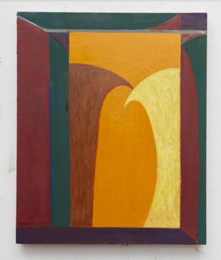 Travis Fairclough, 2016, 'Dualist Affect', Oil on Linen 22x18 inches