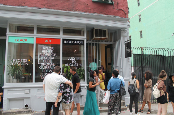 Black Art Incubator at Recess. Photo courtesy of Recess.