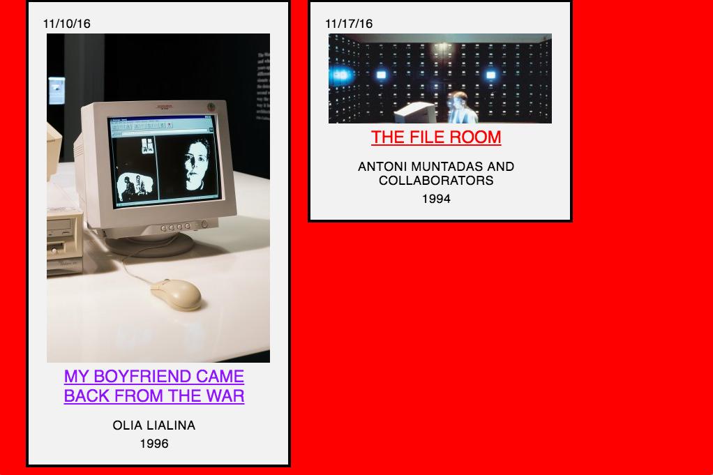 Screenshot from Rhizome.org's Net Art Anthology. https://anthology.rhizome.org/