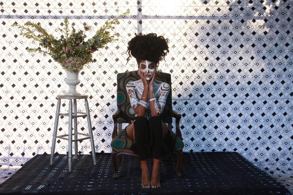 "Afropunk ""Radical Black Excellence Project"": Michaela Angela Davis + Gbenga Akinnagbe + Baron Claiborne (photographer)"