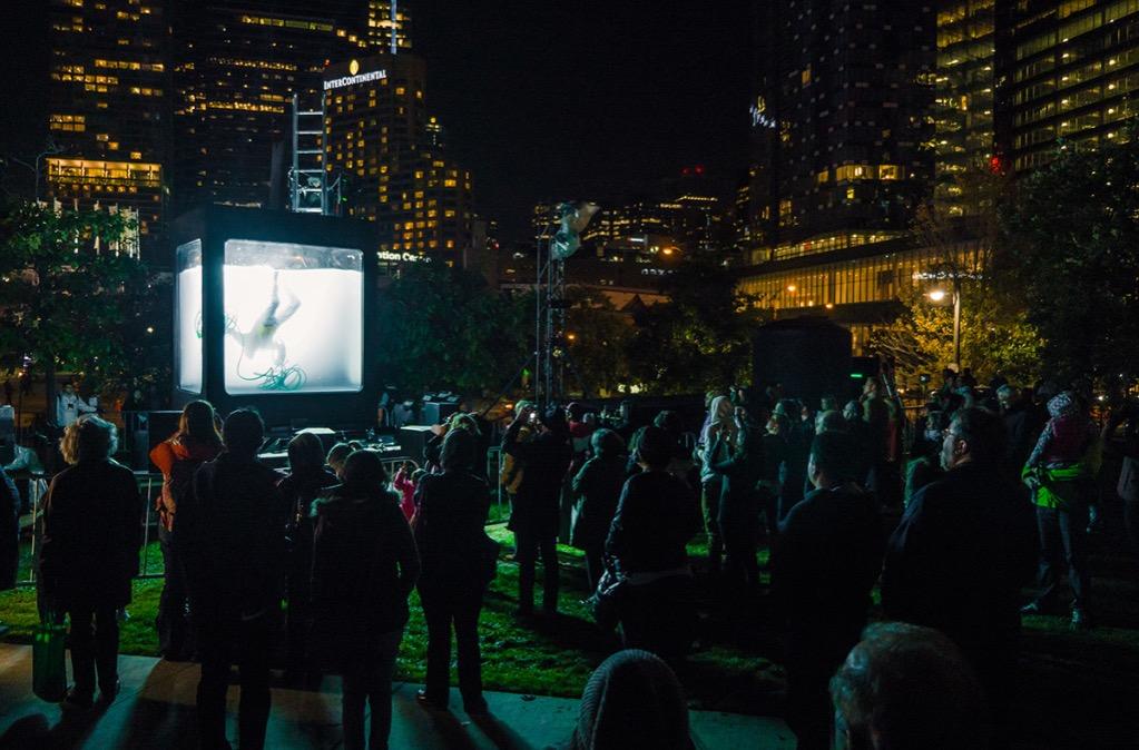 Holoscenes by Lars Jan, Toronto Promenade, 2014