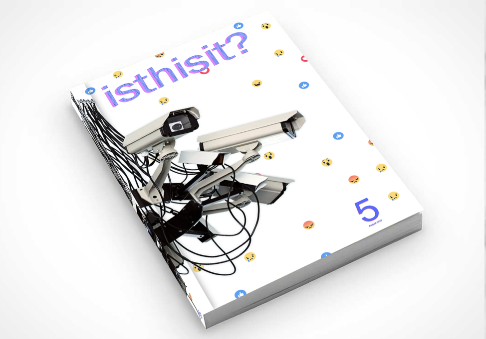 isthisit? issue 5 , 2018.  Image courtesy of the artist. https://www.isthisitisthisit.com/issue-05