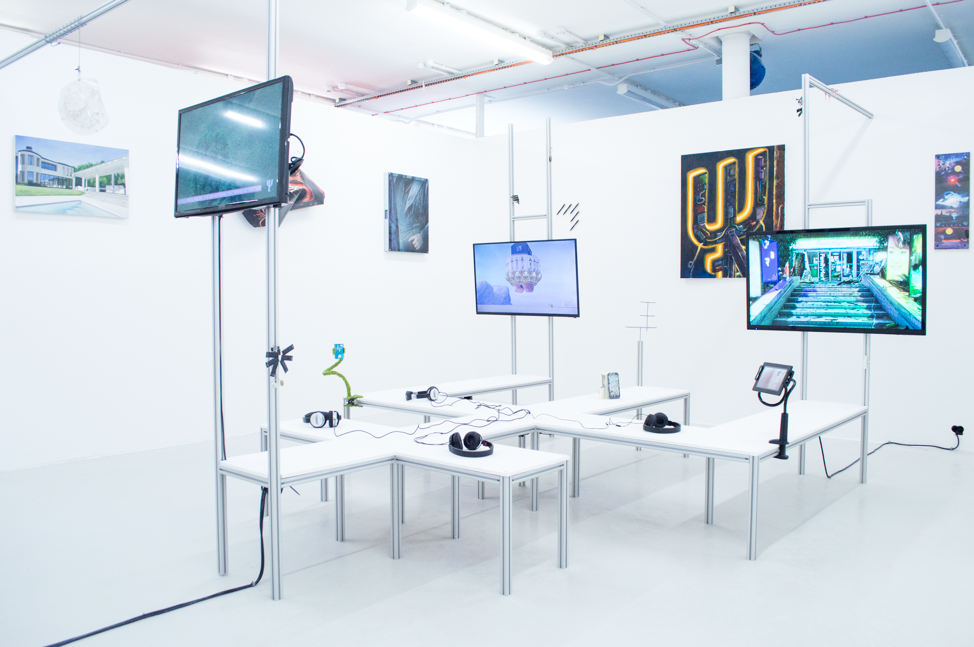Duty Free,  Installation view, 2018. Image courtesy of the artist.
