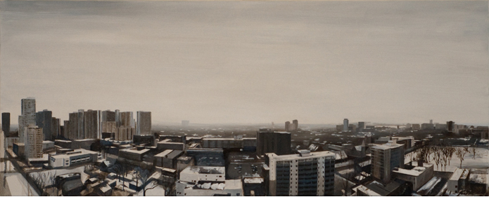 East End (2011) 24 x 60 oil on canvas (SOLD)