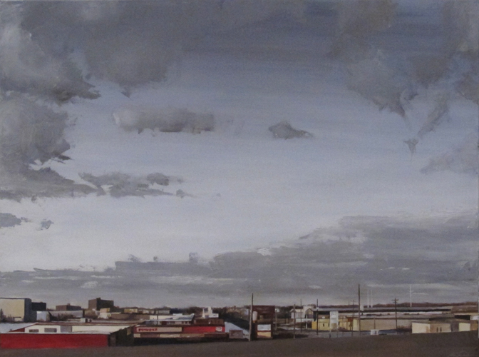 Big Sky (2011) 48 x 60 Oil on Canvas (SOLD