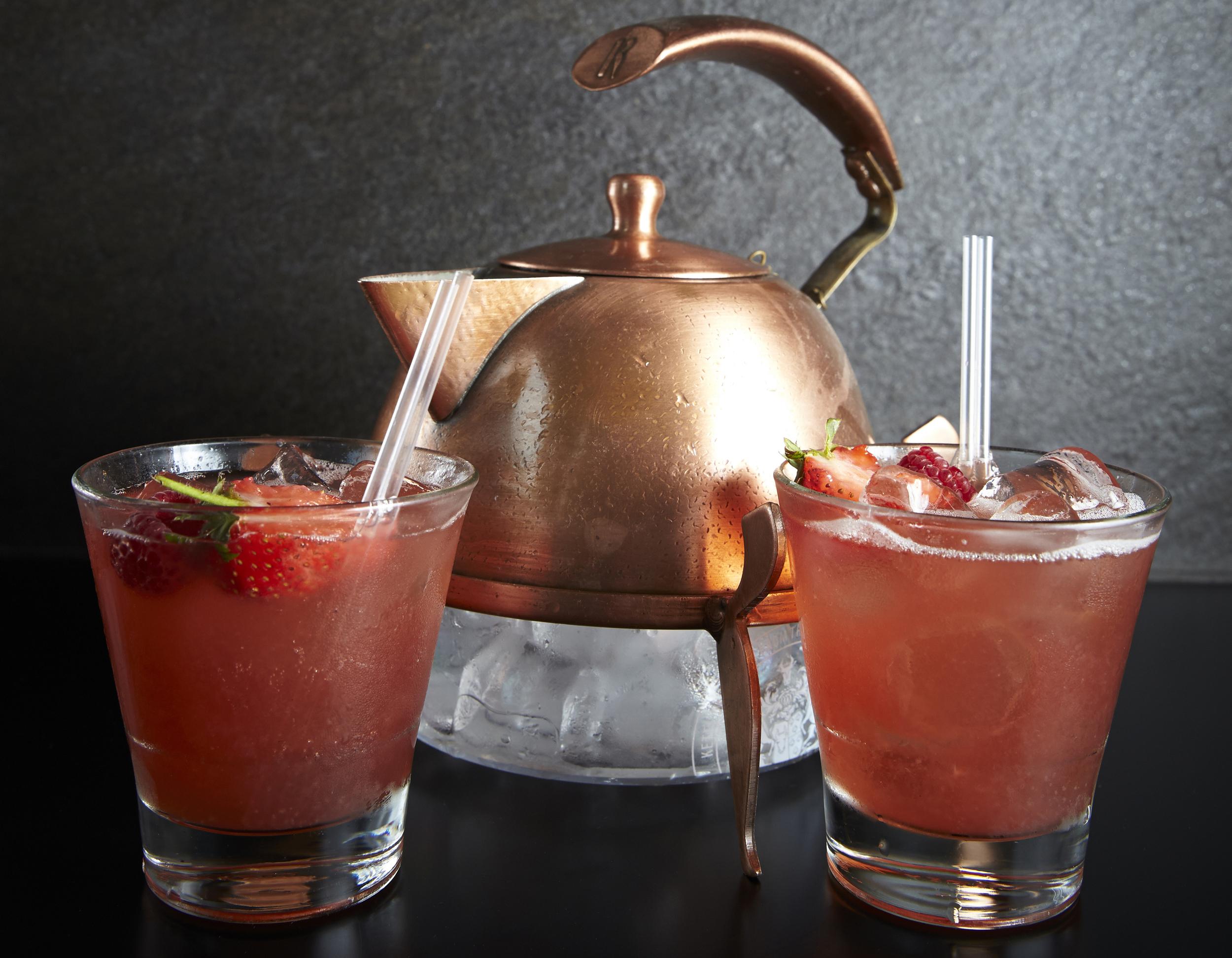Dark Berry and Chocolate Ketel One Vodka Tea