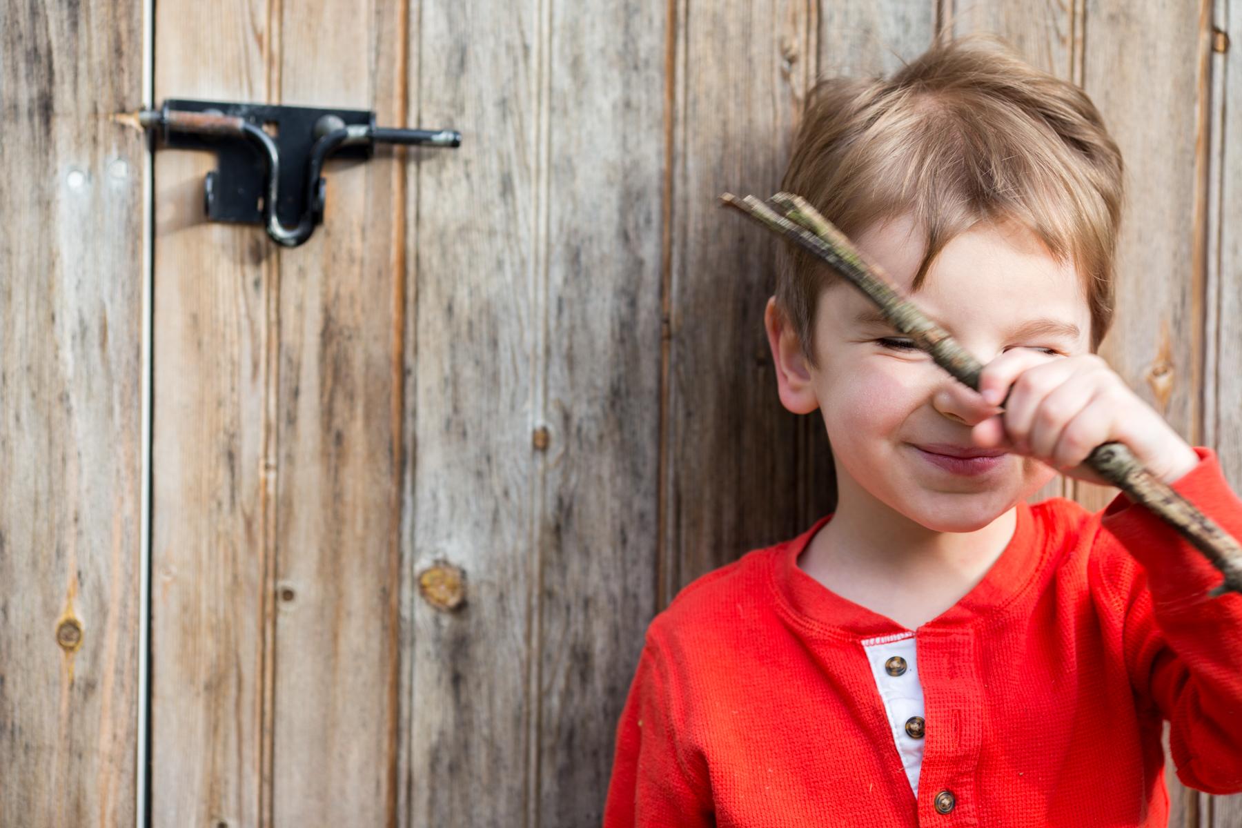 Noah, son of artist Megan Carty, age 4