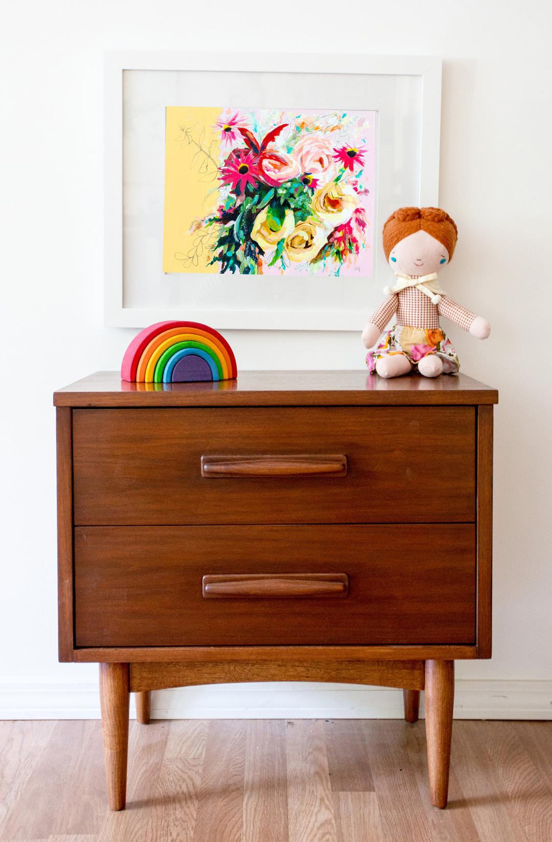 vintage inspired nursery art