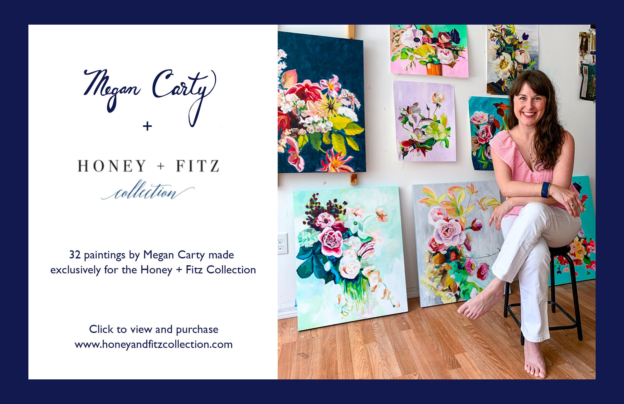 floral art by megan carty