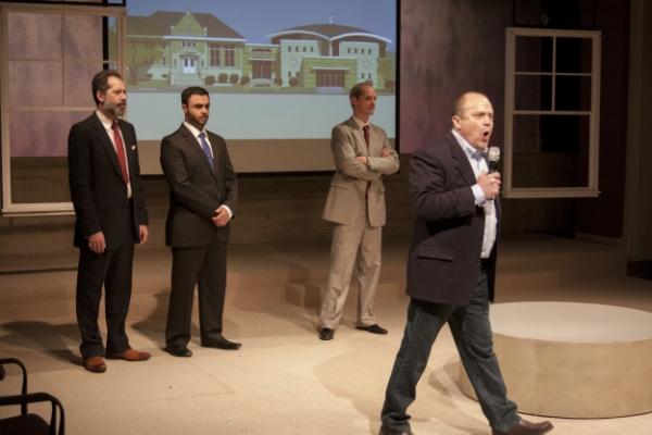 From left: Rom Barkhordar, Frank Sawa, Mark Ulrich, and Steve Silver