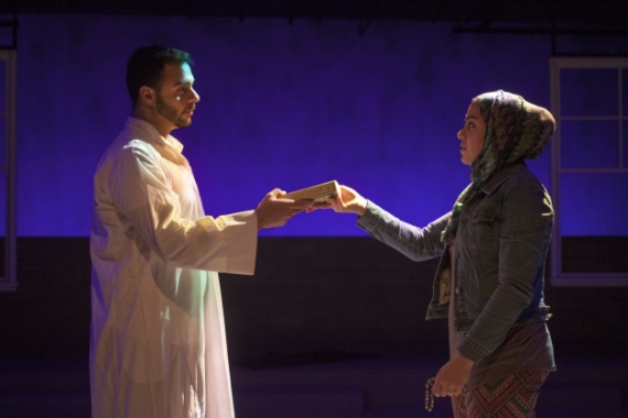 From left: Frank Sawa with Sahar Dika