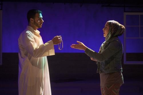 From the left: Frank Sawa with Sahar Dika.