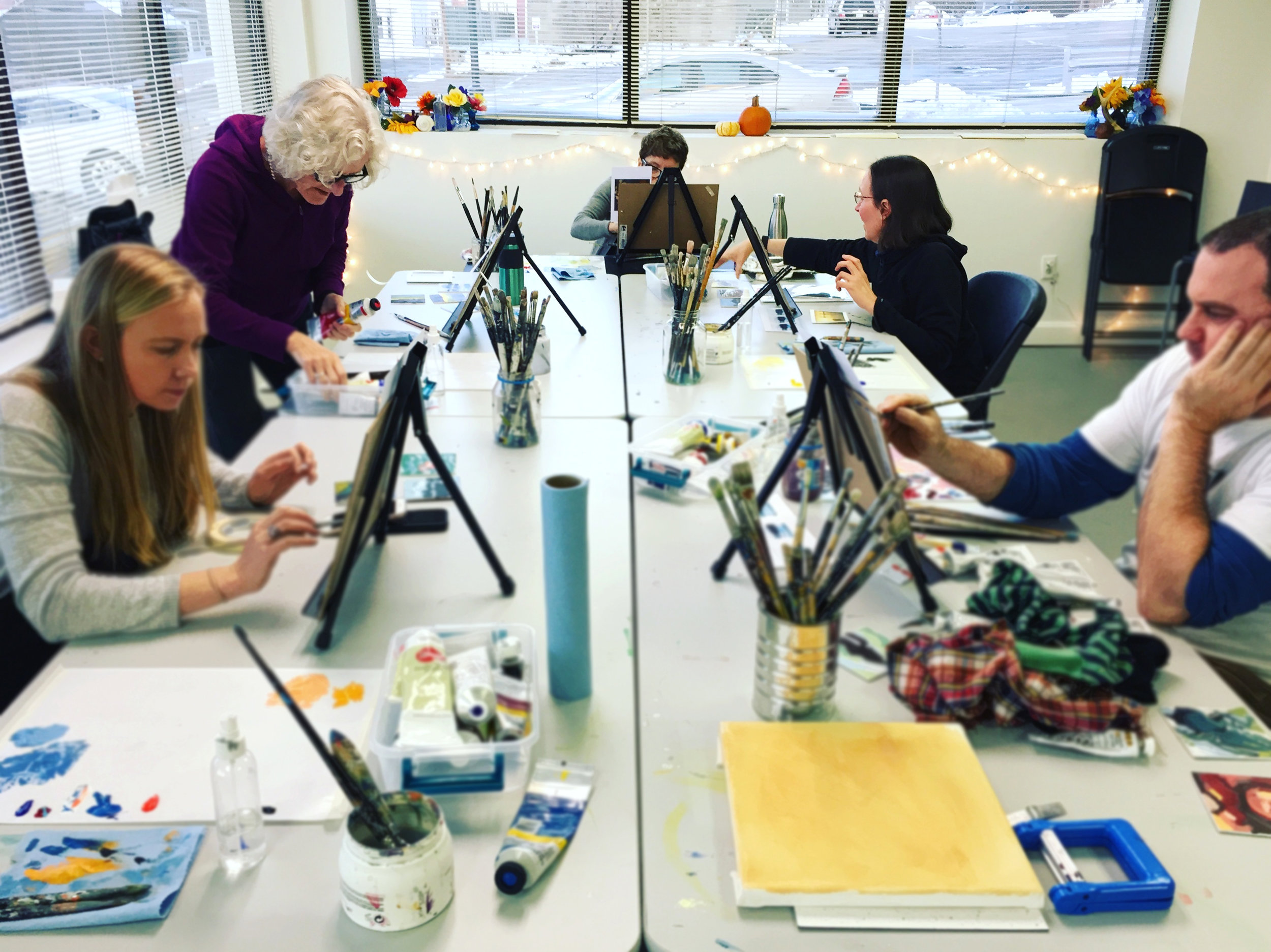 Creative workshops at Still Life Studio