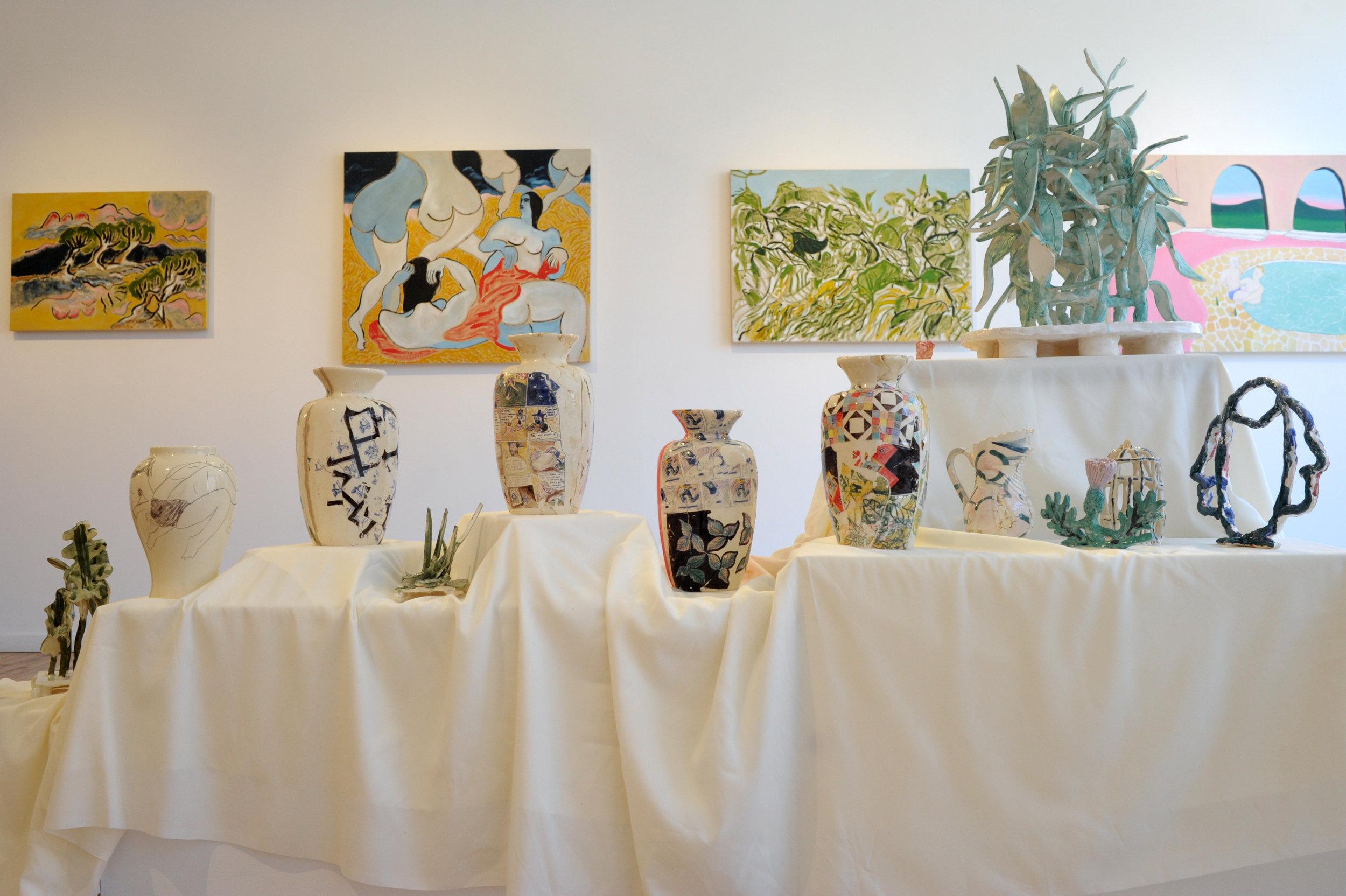 EstWall_Ceramics + Paintings_by all .JPG