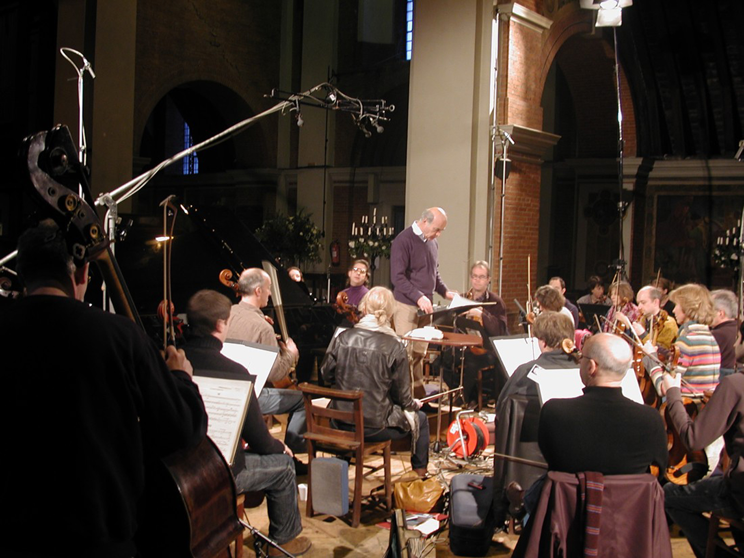 Recording the London Mozart Players, Church of St. Jude on the Hill