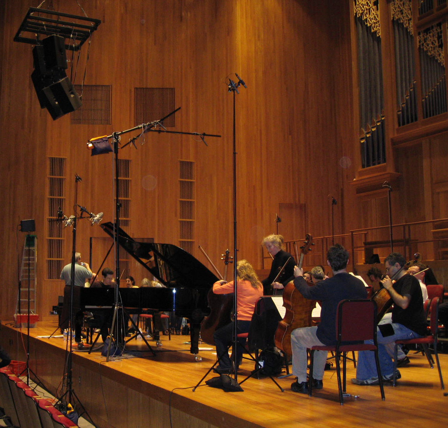 Recording Orpheus Chamber Orchestra for EMI
