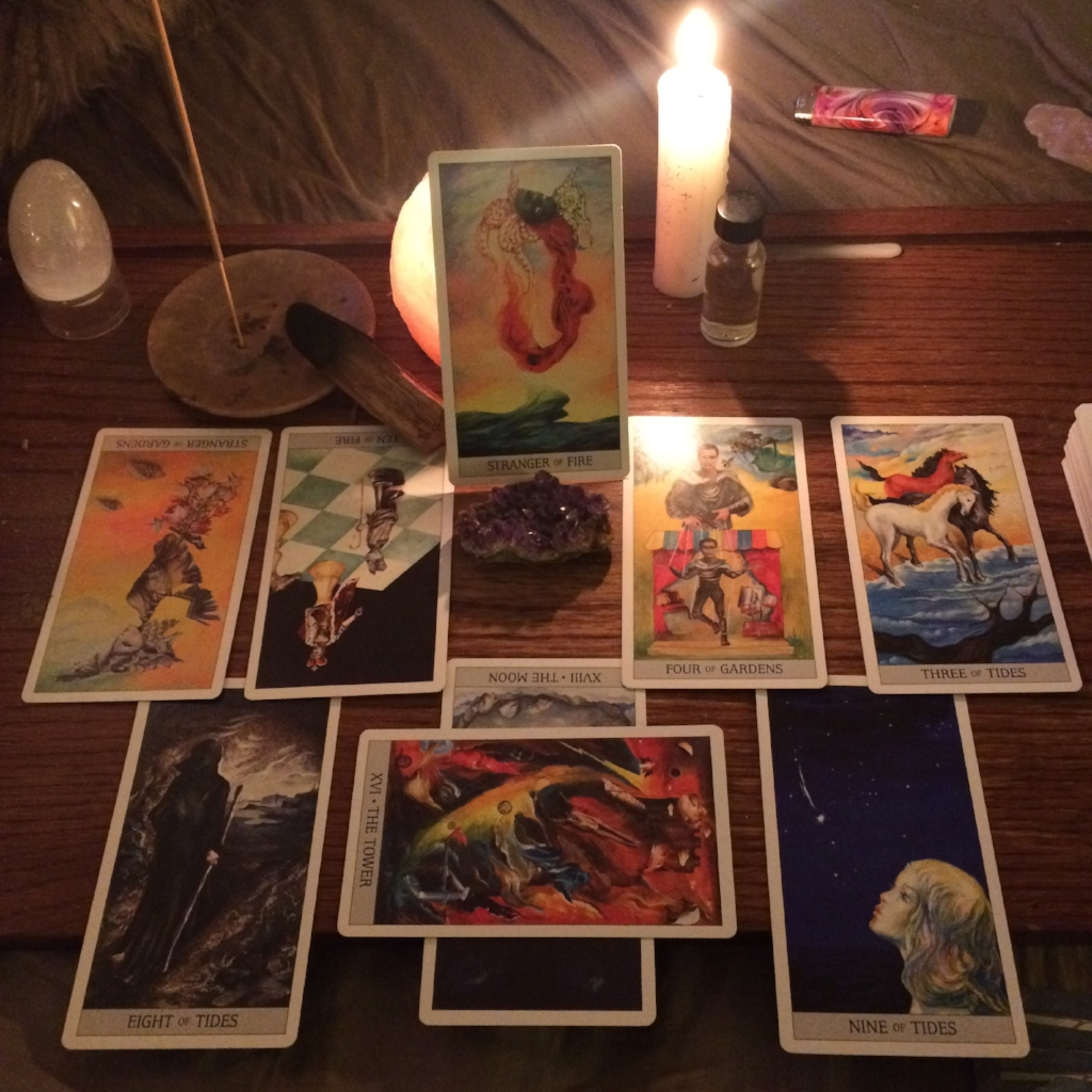 Going deep on a tarot reading