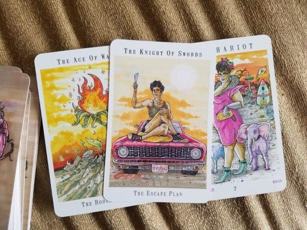 Deck pictured: Christy C. Road's   Next World Tarot
