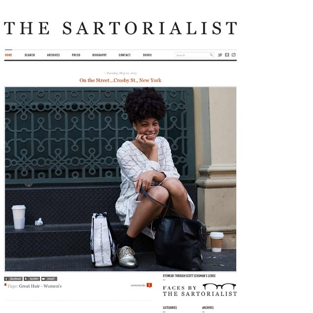 The Sartorialist May, 2015