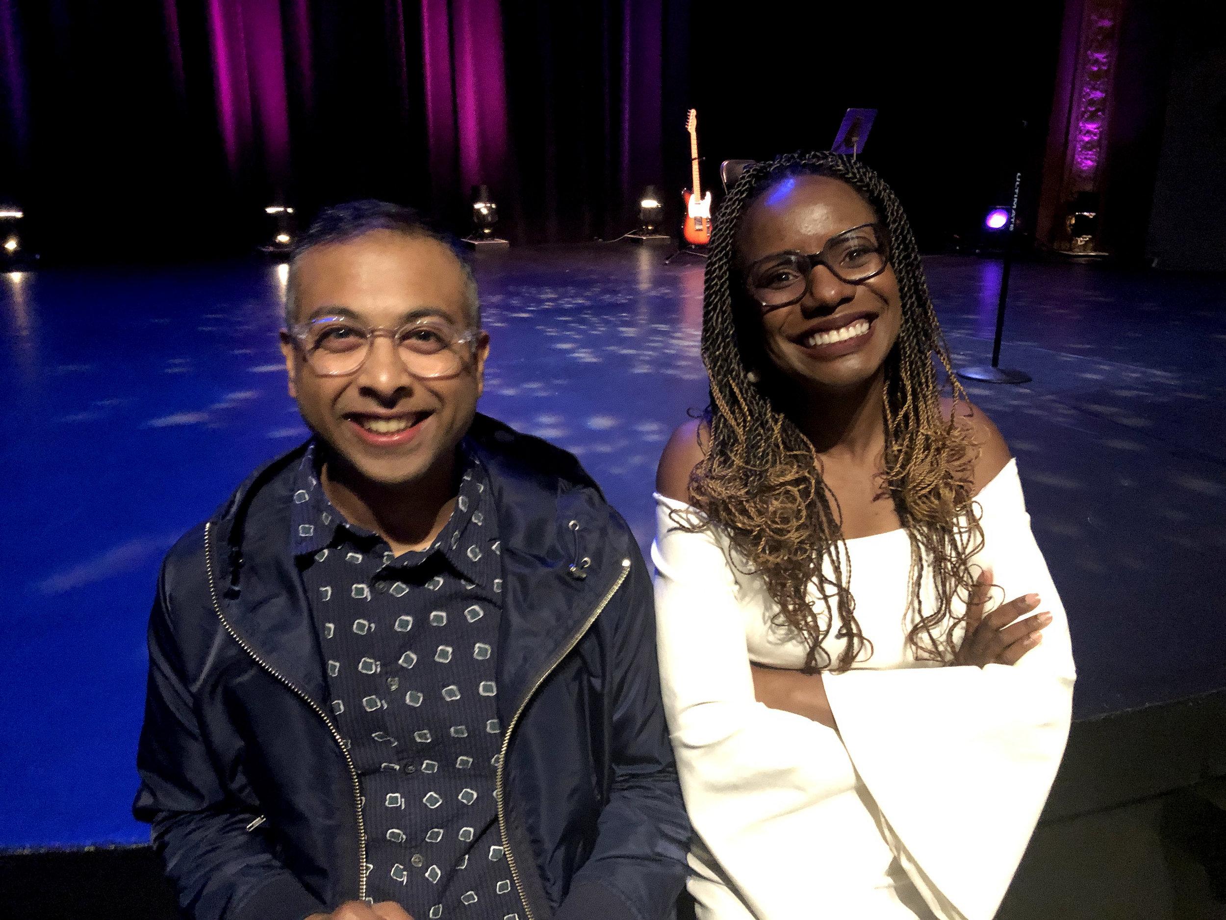 ashim and mellody pre-show.jpg