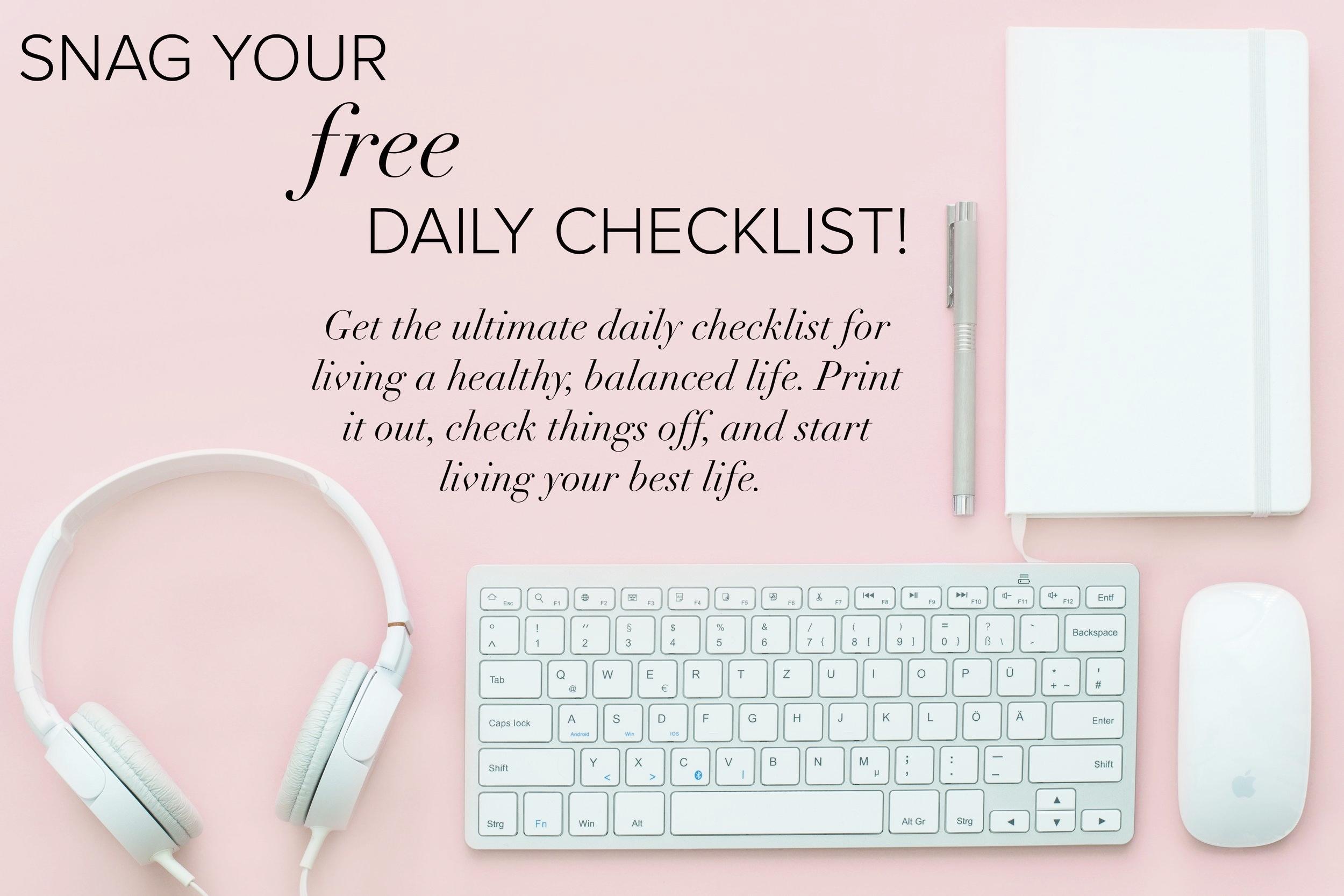 daily-healthy-checklist