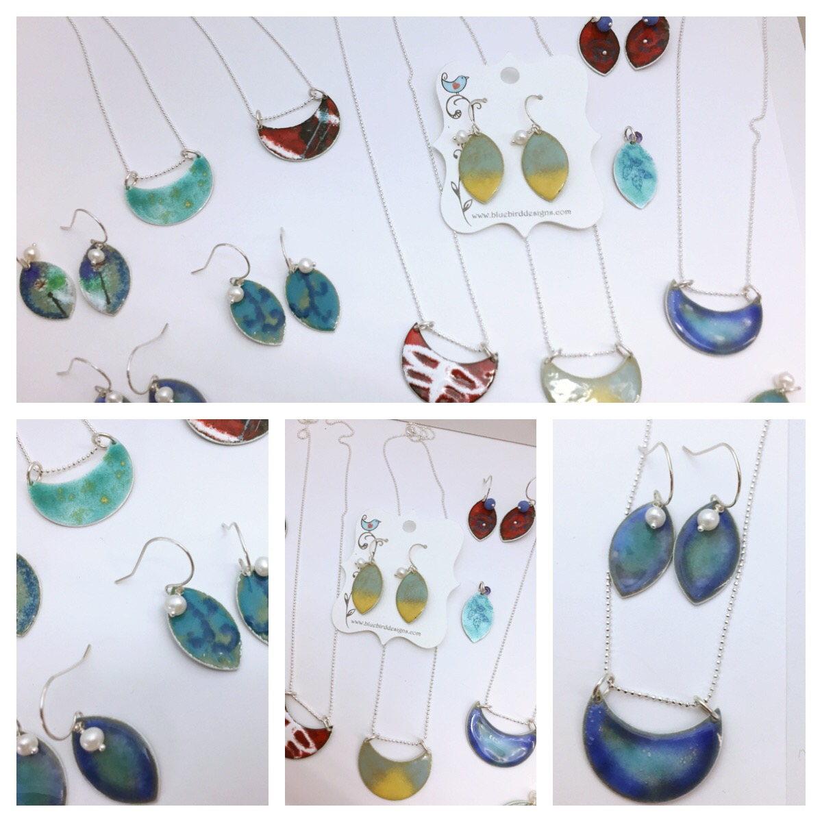 Picture's of last night's class creations! Beautiful work by all! Come make your own tonight!