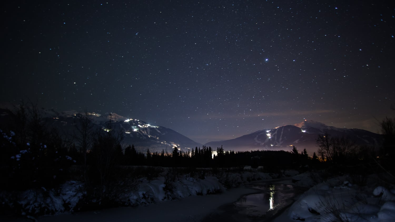 Whistler at Night