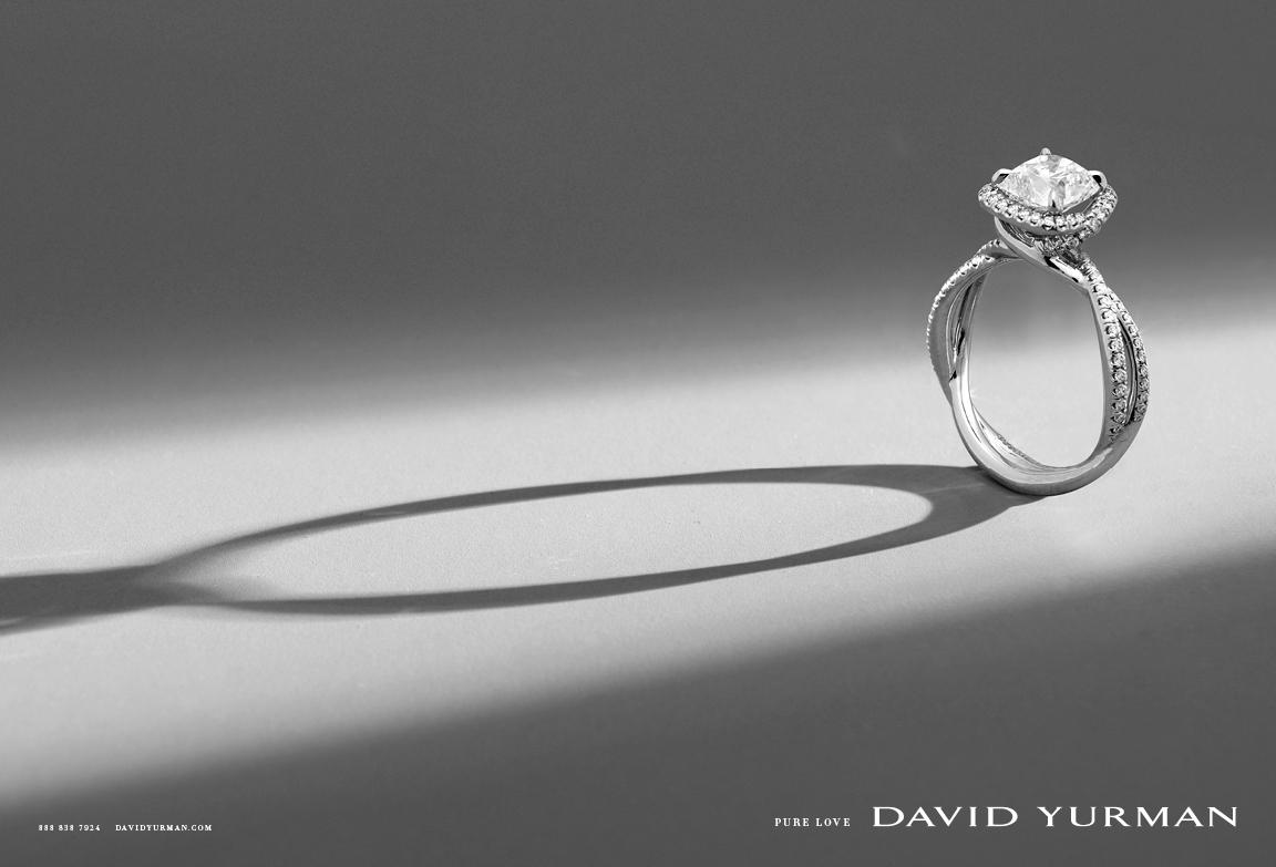 Client: David Yurman Art director: Sam Shahid Photographer: Ilan Rubin Product: David Yurman Wedding