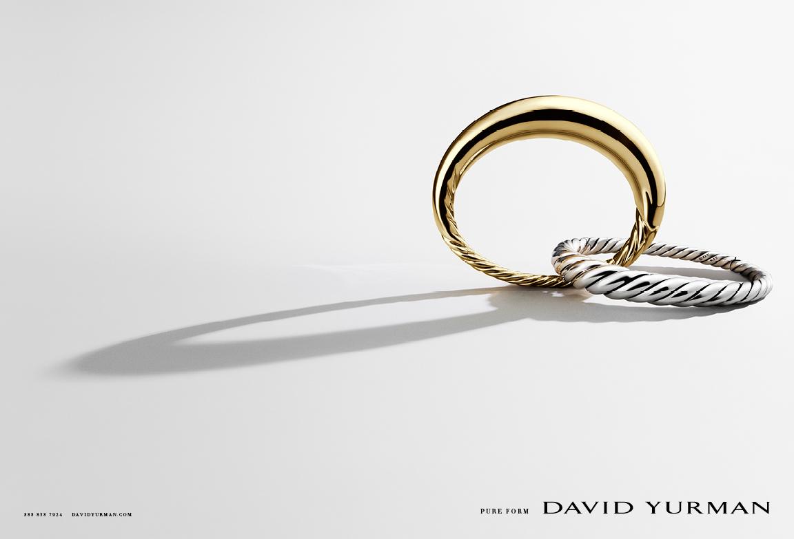 Client: David Yurman Art director: Sam Shahid Photographer: Ilan Rubin Product: David Yurman Pure Form