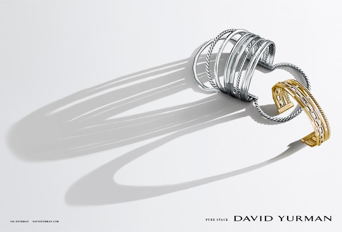 Client: David Yurman Art director: Sam Shahid Photographer: Ilan Rubin Product: David Yurman Stax