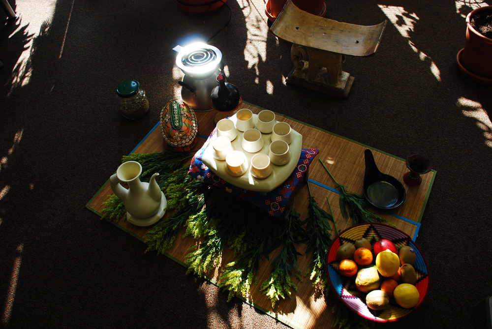 Coffee Ceremony in the evening light.jpg