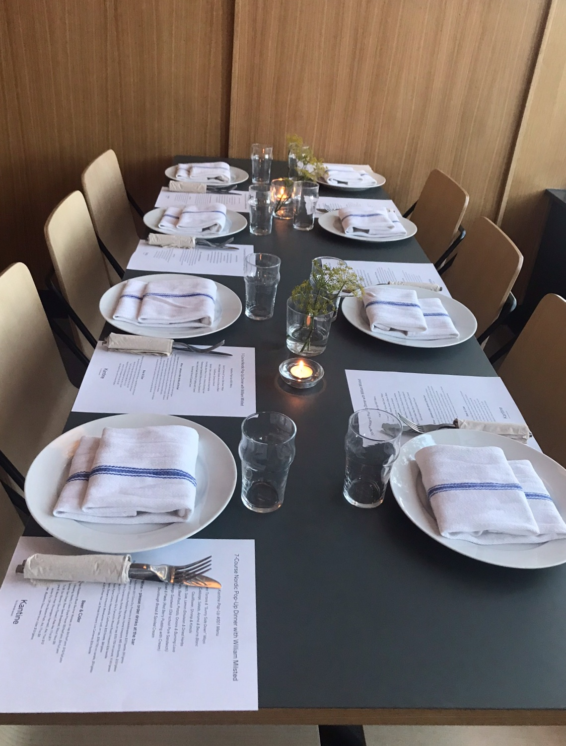 Private Events Kantine