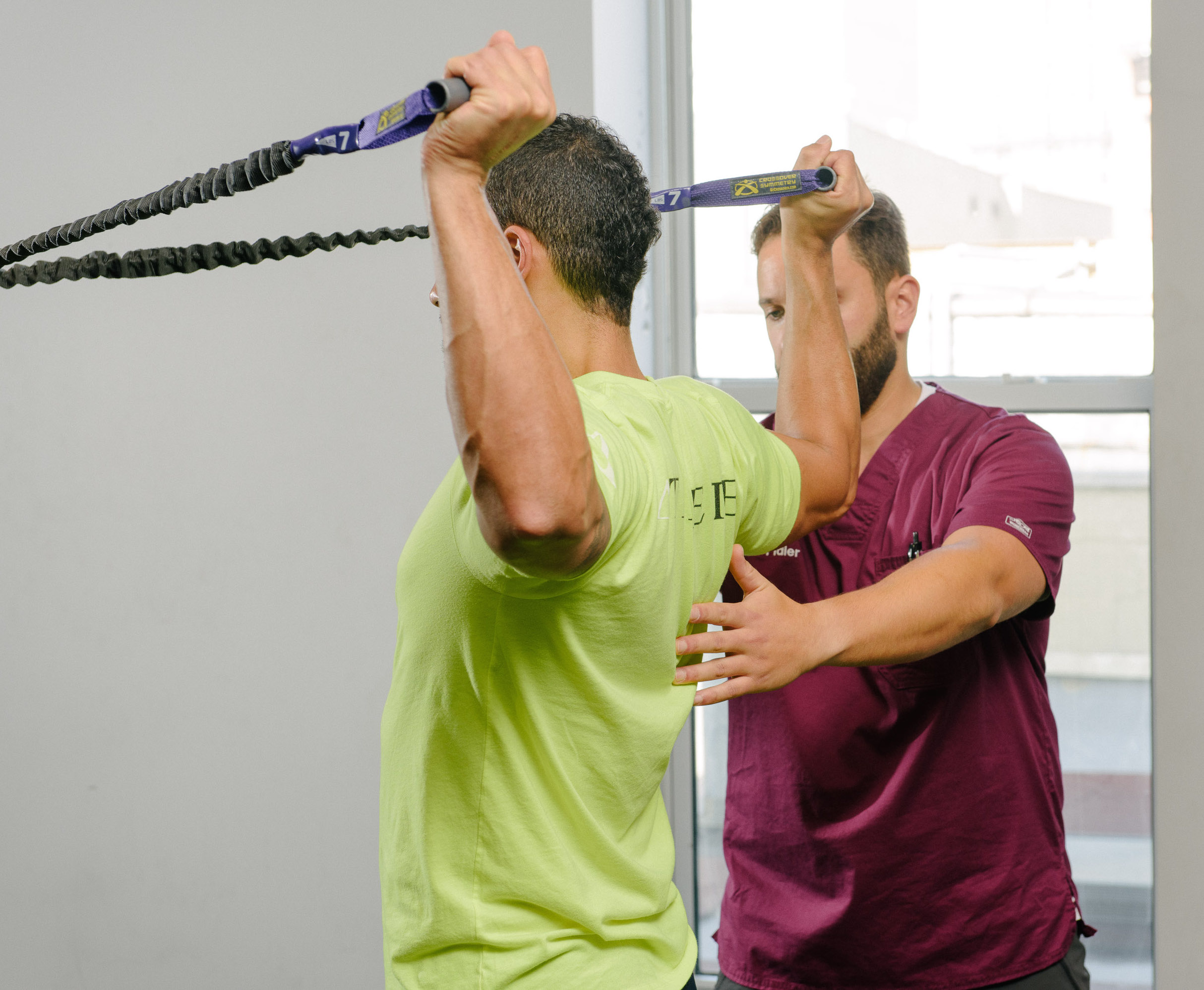 Physical therapy at Functional Rehab in Brooklyn